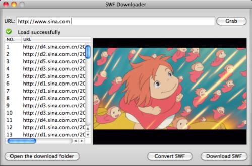 SWF to MOV Converter, convert Flash SWF to MOV on Mac or Windows